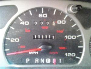 111,111 miles