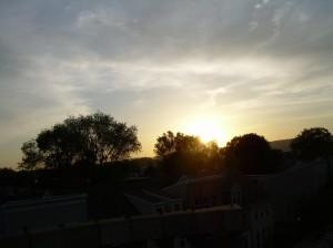 SunsetOnLambsGap